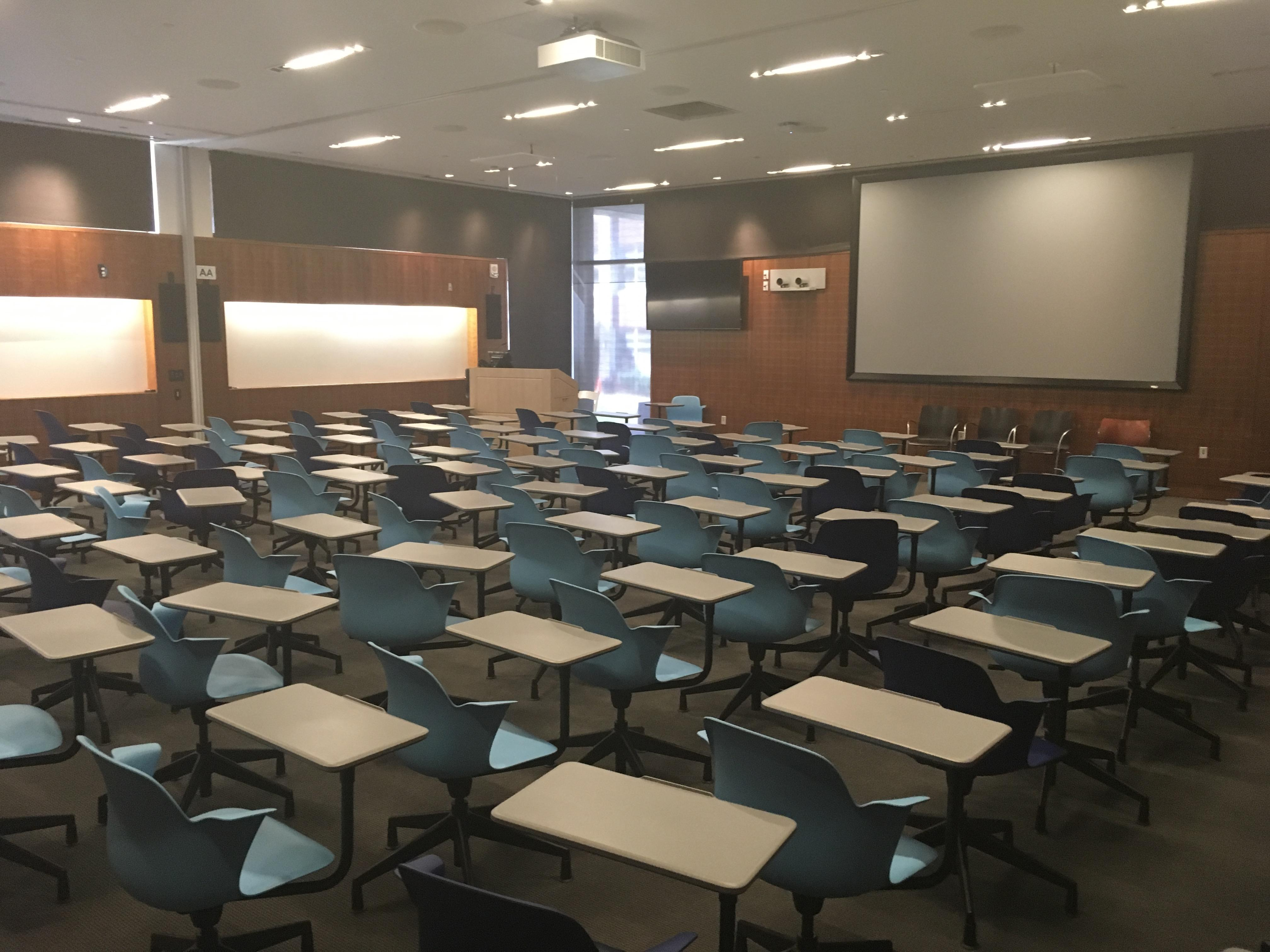 Modern Classroom Projector ~ Pharmacy biology building uconn classrooms storrs
